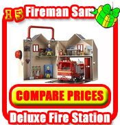 Fireman Sam Deluxe Fire Station